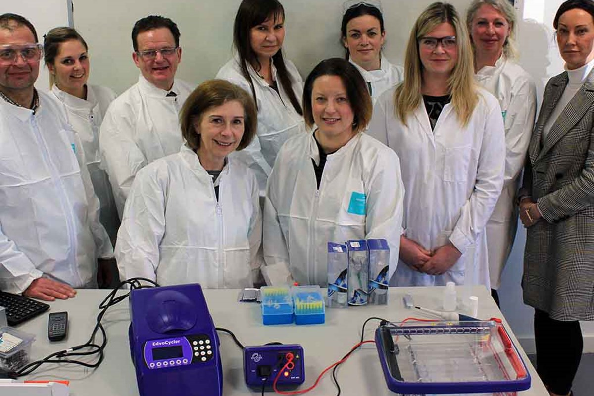 Fife College Hosts DNA Workshops