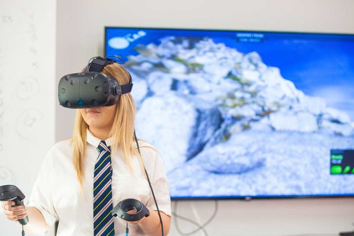 Virtual technology makes learning a reality