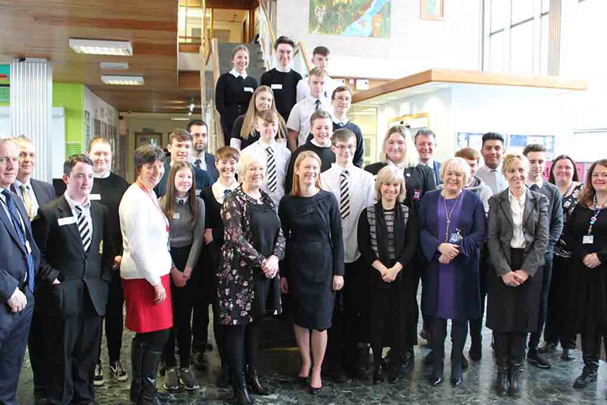 Scottish Apprenticeship Week Ministerial Visit