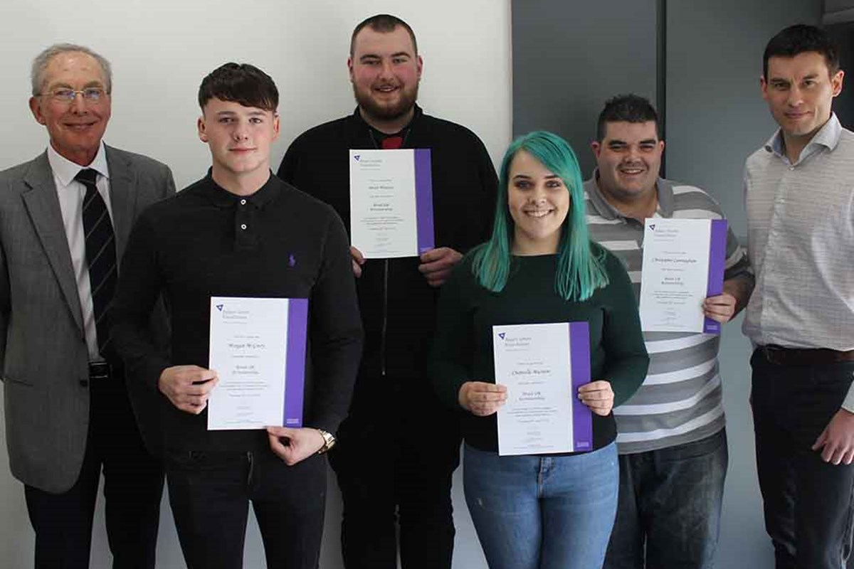 Shell Scholarship Win for Fife College Students