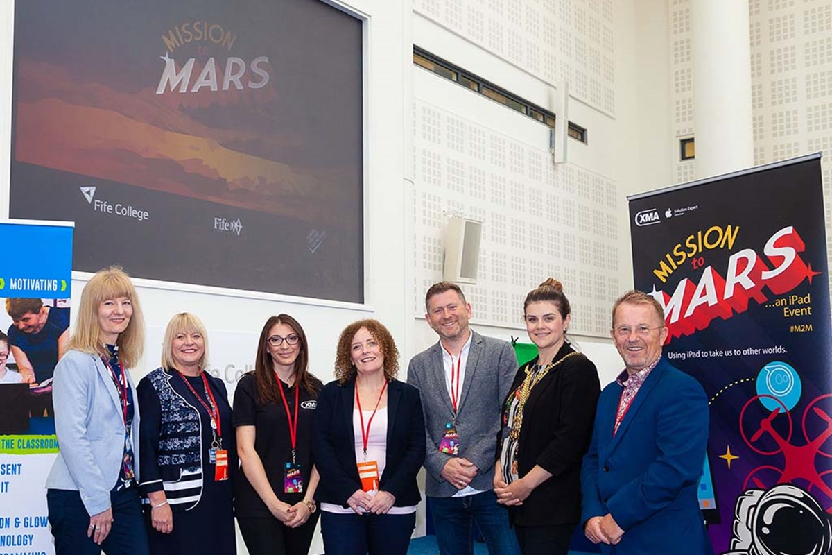 Mission to Mars Launches at Fife College