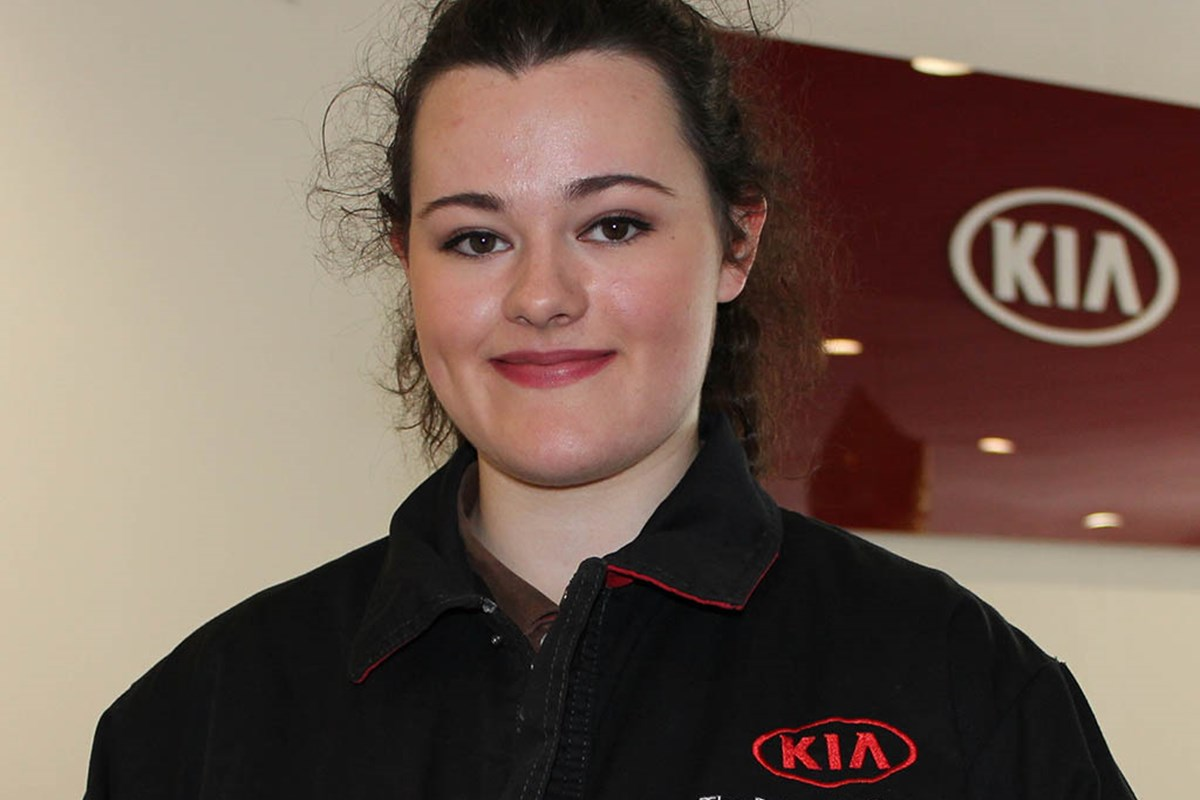 National Win for Automotive Apprentice Rebecca!