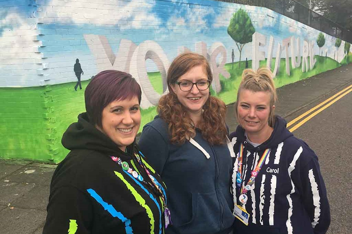 Inspiring Mural Celebrates Year of Young People