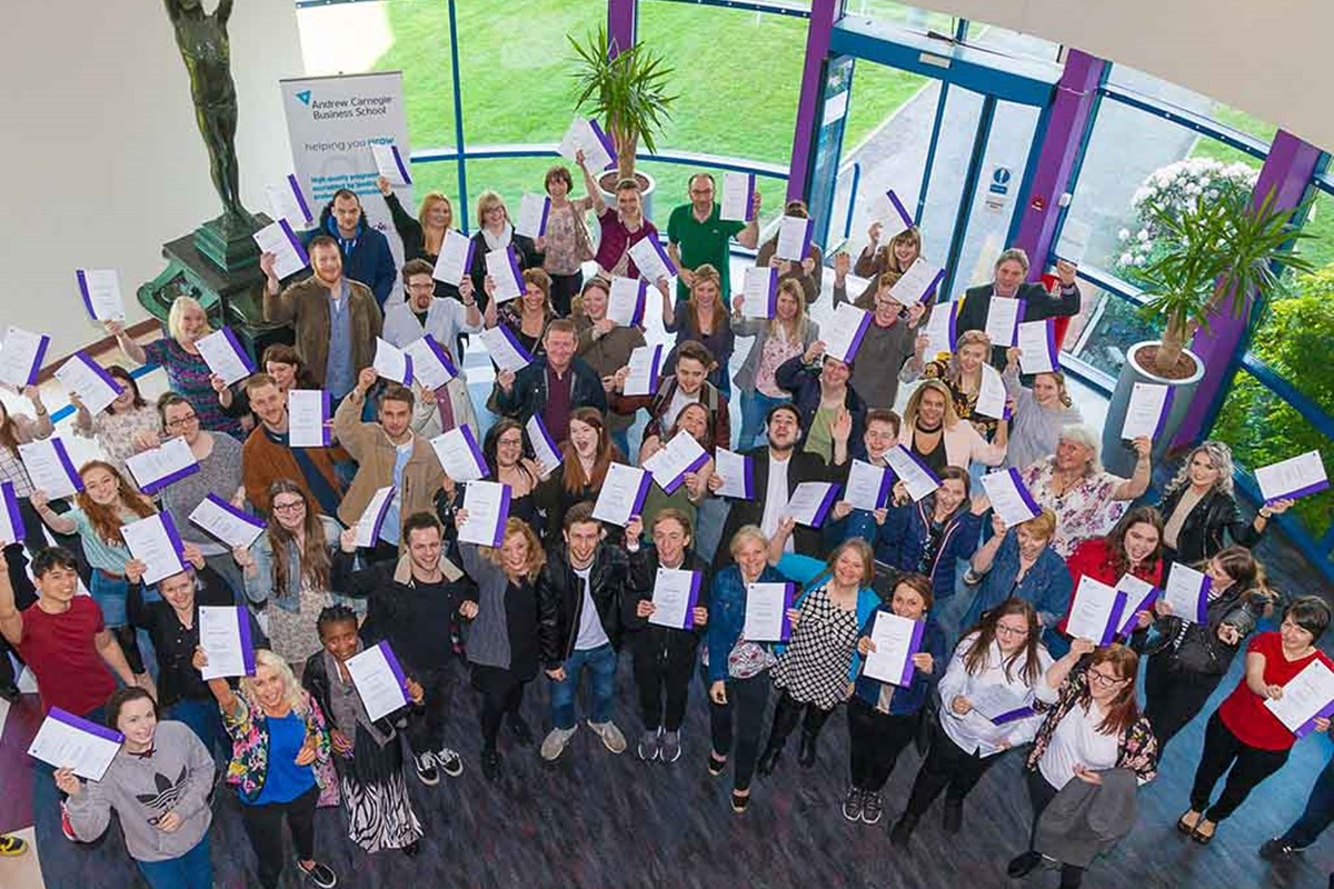 Fife College's Scholarship Programme Awards Record Numbers