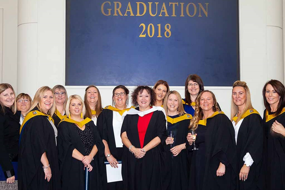 Celebrating Graduation Week at Fife College