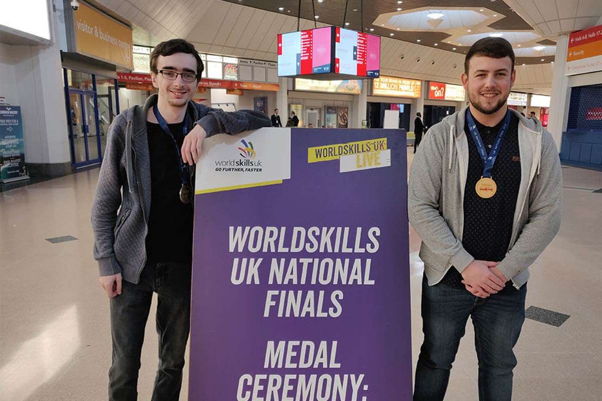 Fife College Students Win at WorldSkills