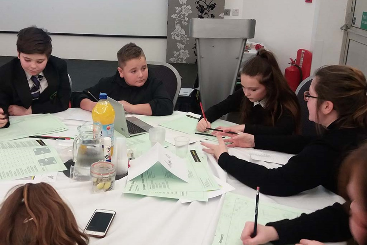 Pupils Enjoy 'First Chance' to Learn More About Eco Careers