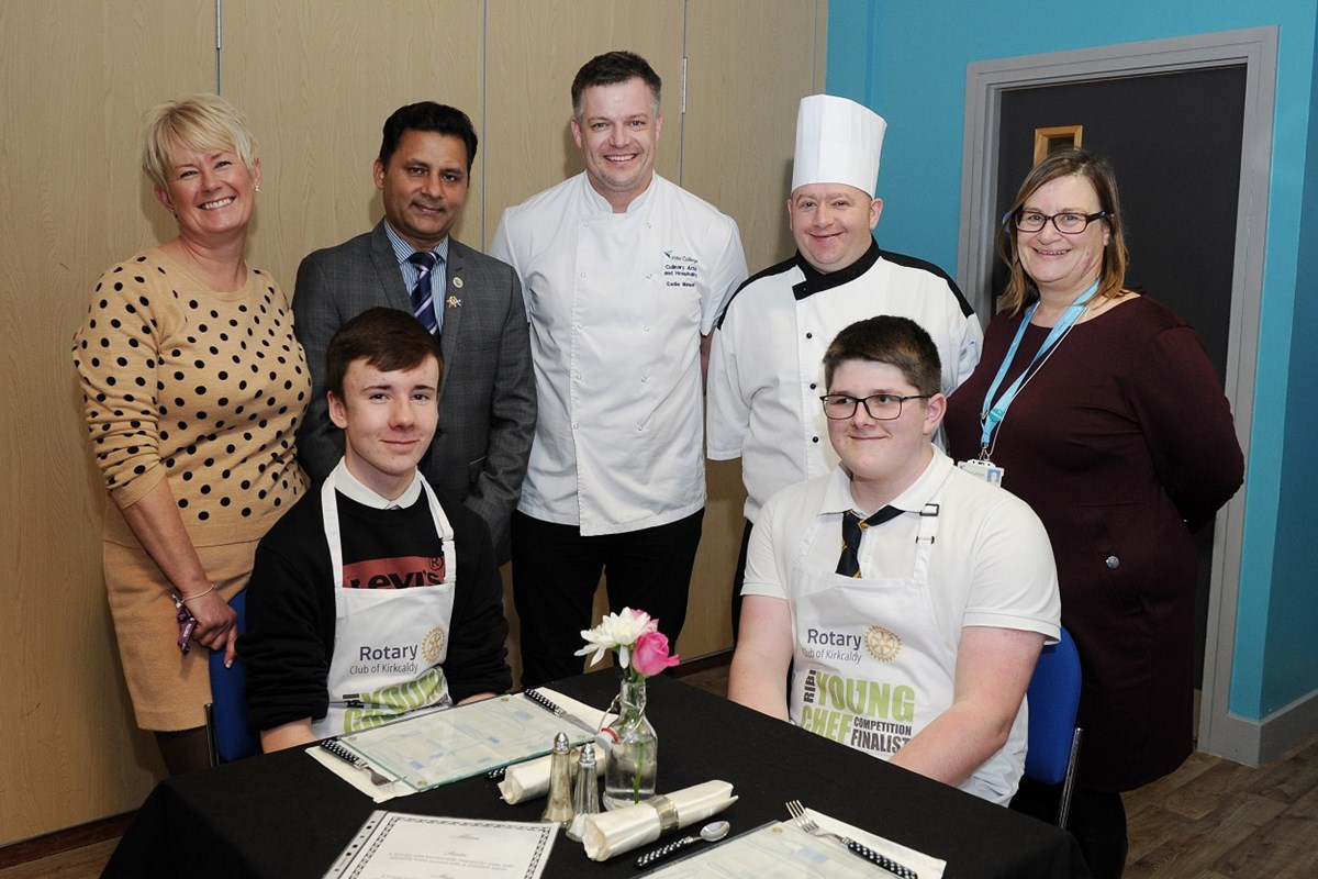 Young Chefs Cook Up a Storm at St Brycedale Campus