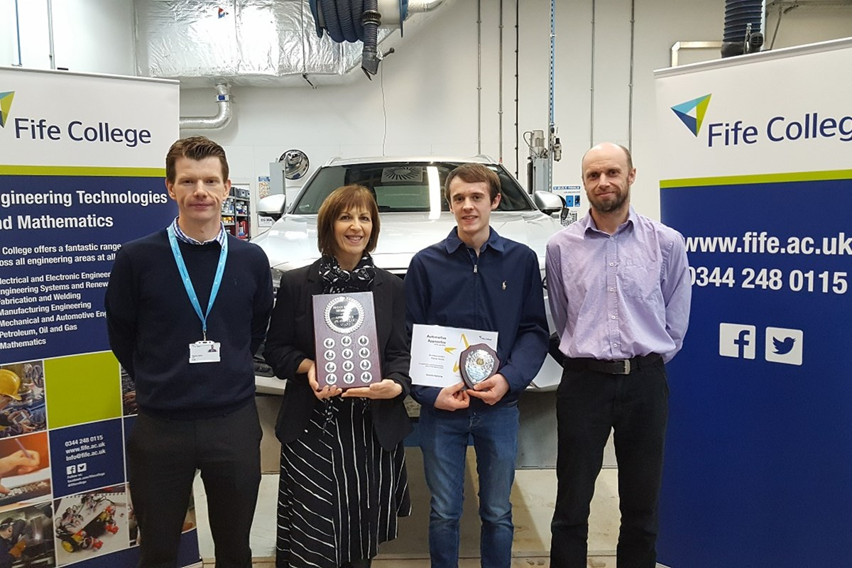 Apprentice of the Year Awarded in Memory of Brian