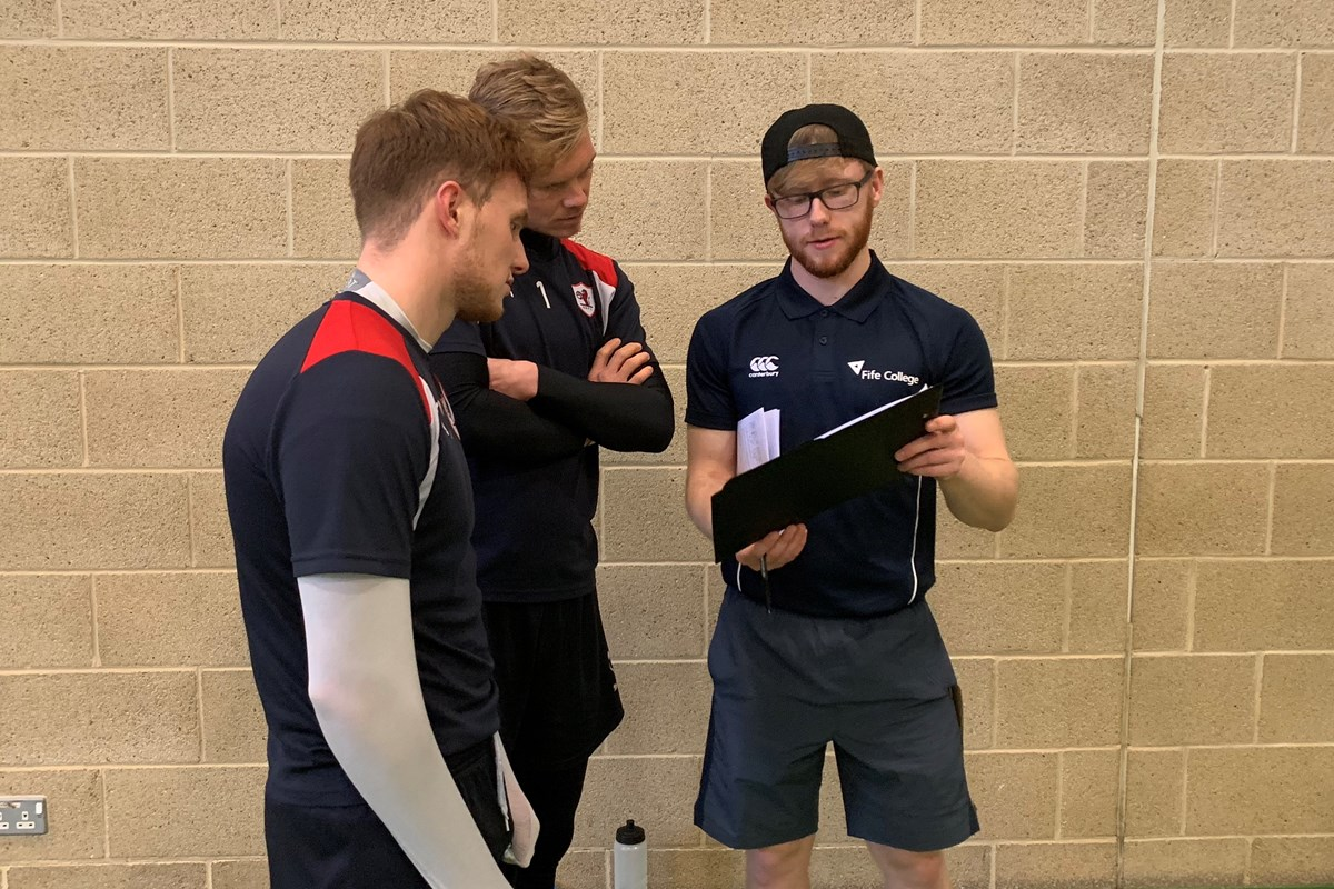 College Students Provide Tough Tests for Rovers Players