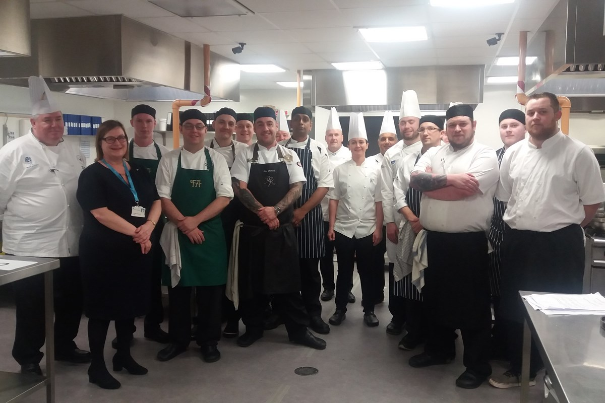 College's Levenmouth Campus Hosts Scottish Chef of the Year Heats