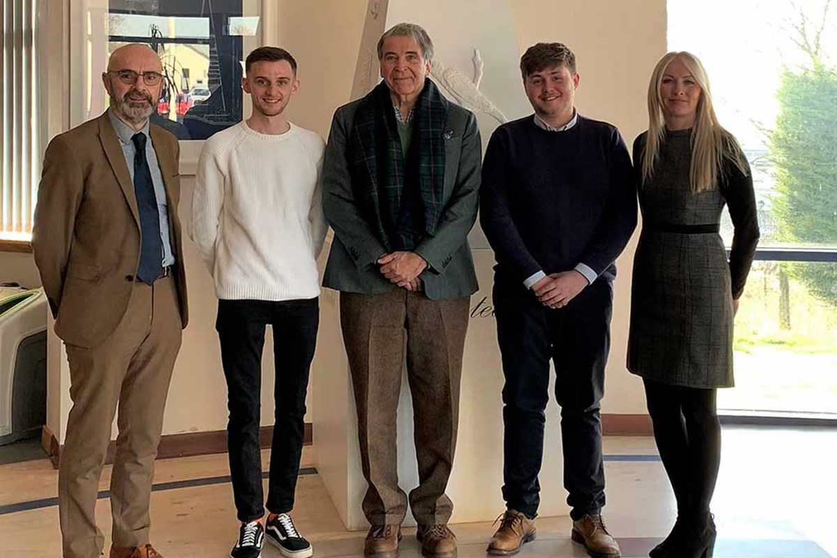 Students Head to USA Thanks to George Lauder Bursary