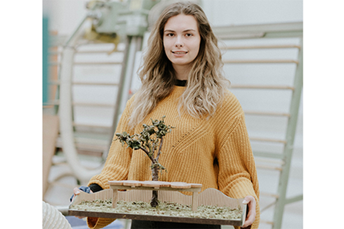 Furniture Student's 'Inspiring' Design Wins Woodland Trust Competition