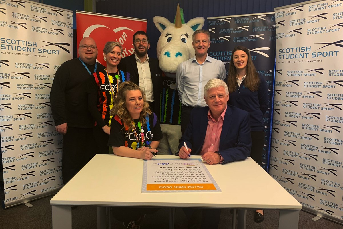 Fife College Pledges Commitment to College Sport