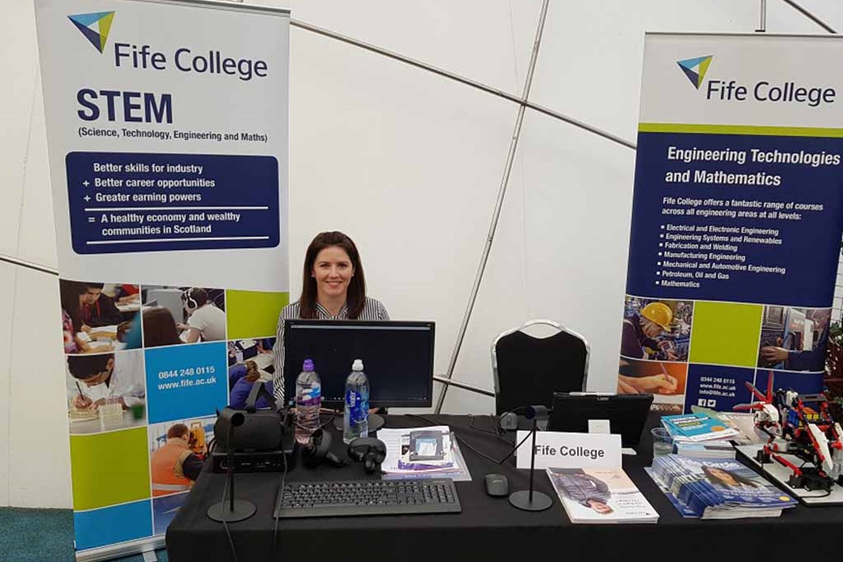 Fife College Promotes STEM at Edinburgh's Dynamic Earth
