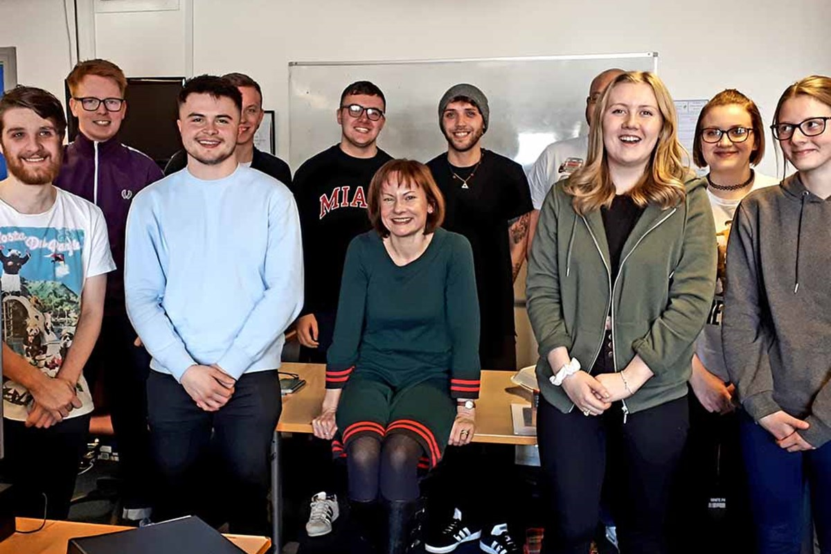Top Journalist Speaks to Students at Fife College