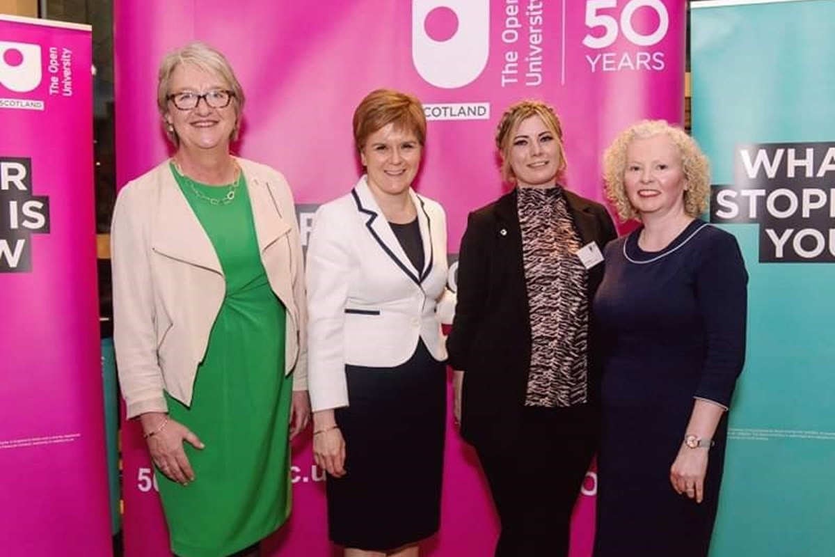 Carol Shares Her Story at Scottish Parliament Reception
