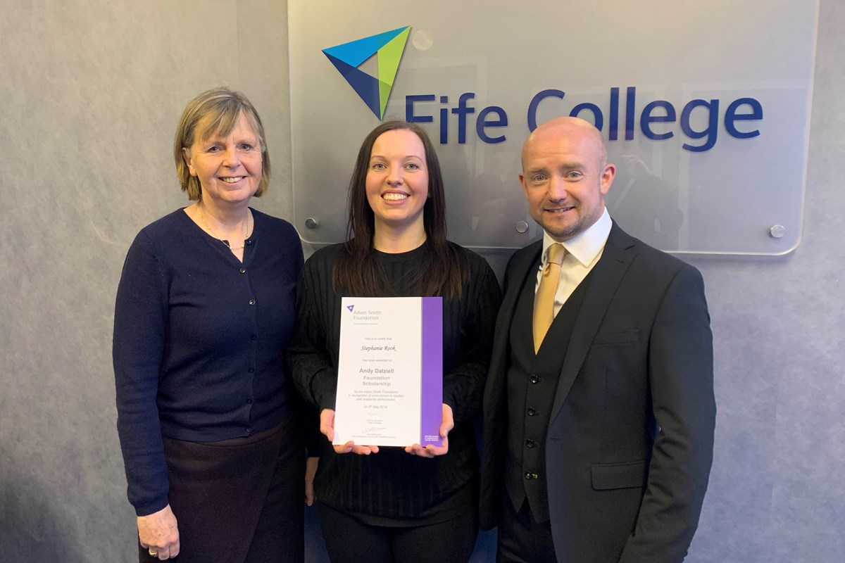 Steph Awarded Andy Dalziell Foundation Scholarship