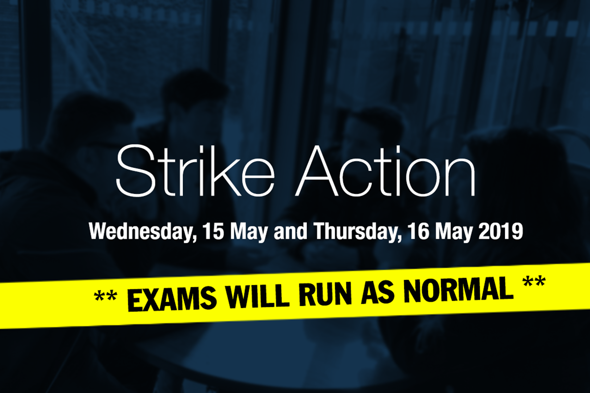 Strike Action Update - Wednesday, 15 and Thursday, 16 May