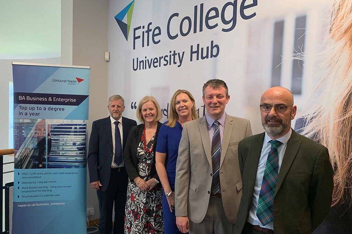 Fife Businesses to benefit from funding support for innovative degree programme