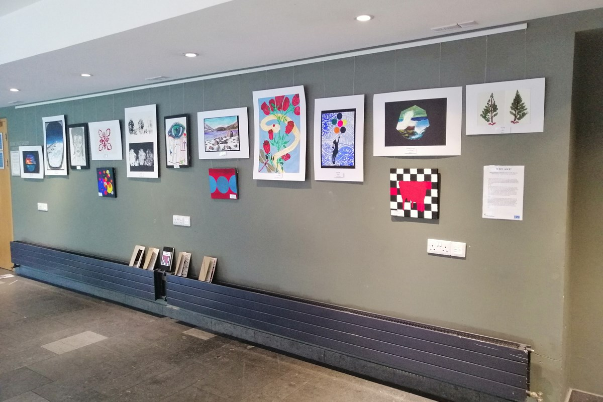 Artwork Created at HMP Inverness on Display at Eden Court
