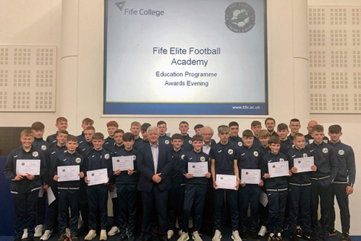 Fife's Young Football Stars Honoured at Celebration Event