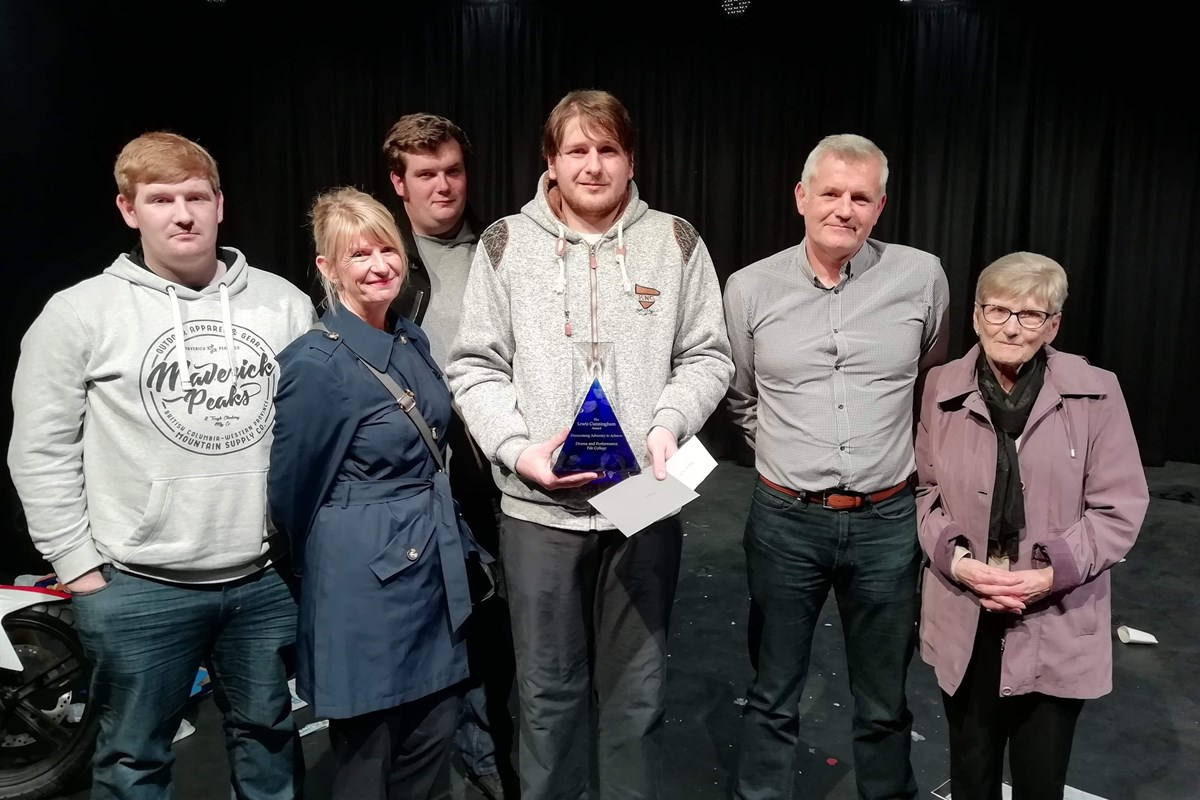 Acting and Performance Student Robert Awarded Overcoming Adversity Award