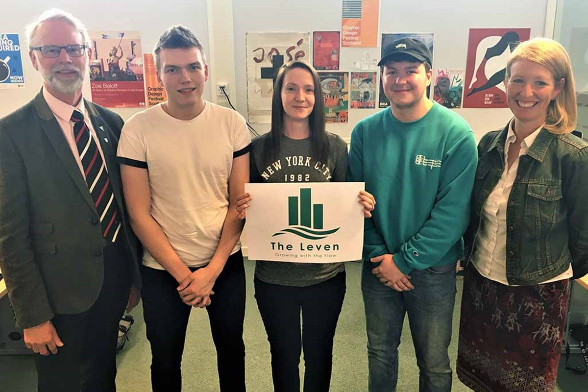 Students are on Brand with River Leven Programme