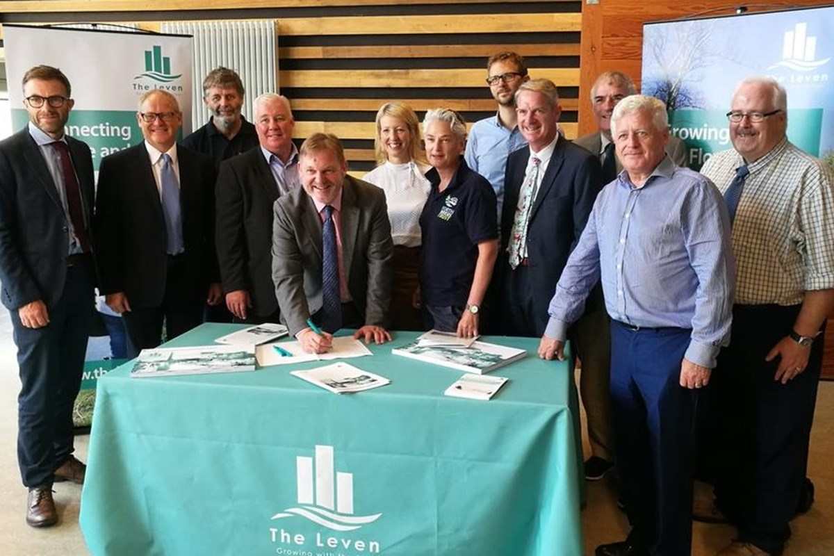 Fife College Sign The Leven 'Sustainable Growth Agreement'