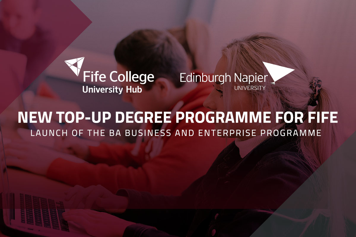 Top-up your HND to a degree in one year at Fife College