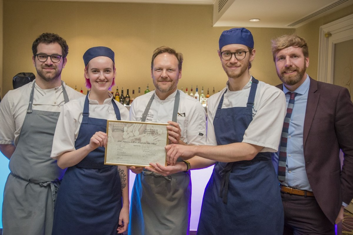 Bakery and Hospitality students in bursary award win