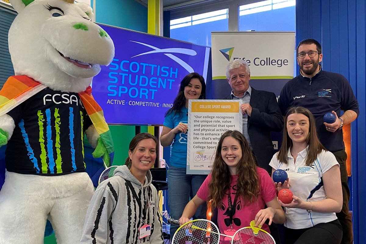College achieves milestone of Scottish Student Sport's Award Programme