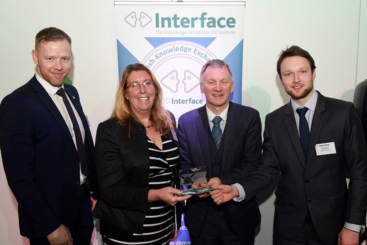 College and ThermaFY highly commended at Scottish Knowledge Exchange Awards