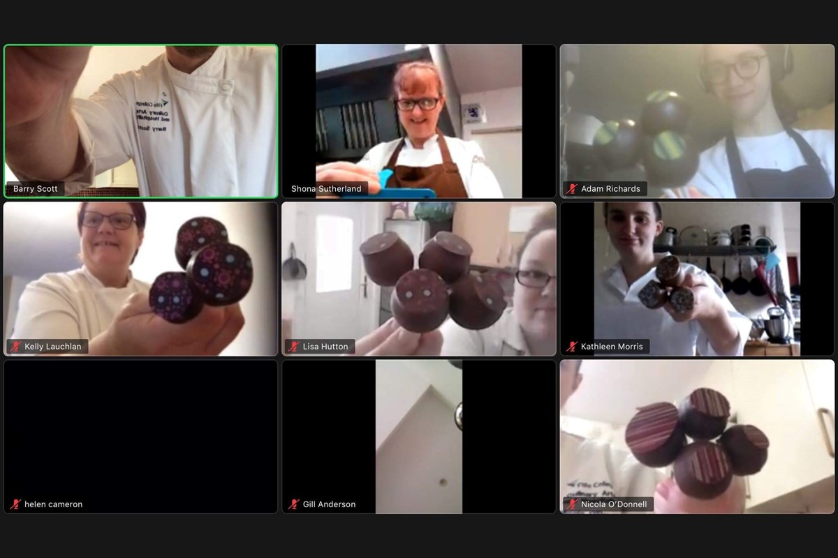 Virtual masterclass a sweet treat for Patisserie students