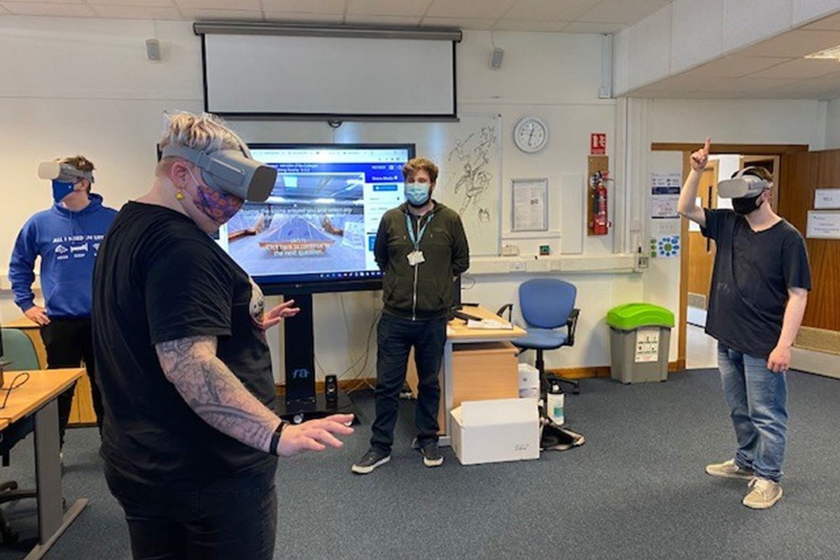 College plays key role in developing new virtual reality assessment tool